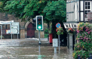 Morpeth Flood September 2008