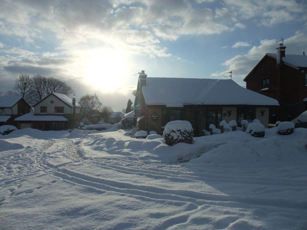 photo of durham snowfall january 2010