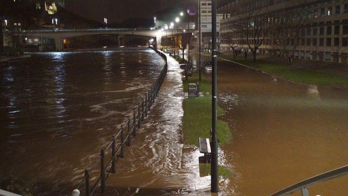 river wear flooding in durham 5th december 2015