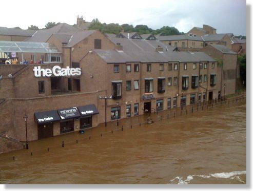 durham flood 2009