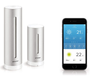 picture of netatmo weather station equipment used to measure the weather at my durham weather station
