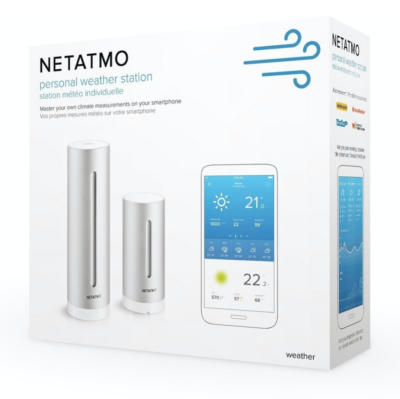 NetAtmo personal weather station in box