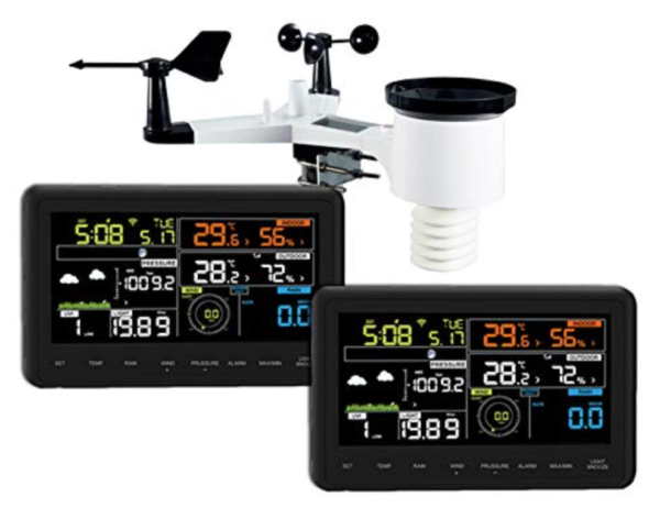 froggit wh3000 twin display weather station