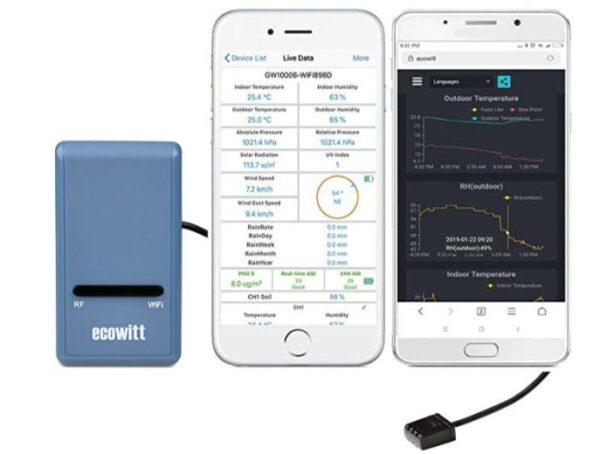 Ecowitt GW1000 Wi fi Weather Station