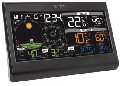 La Crosse Technology WS6868BLA-SIL Colourful Semi-Pro Weather Station