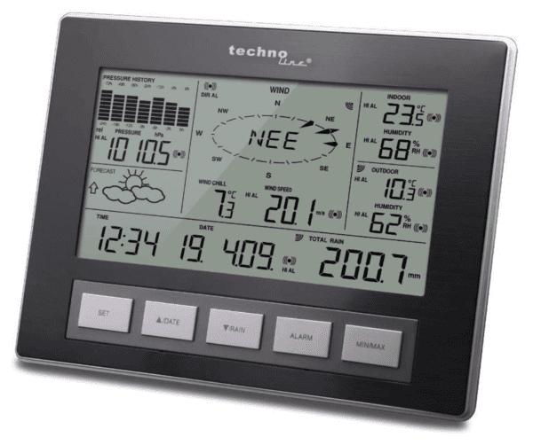 Technoline Ws 2816 Professional Radio Weather Station
