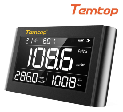 Temtop P1000 Indoor Air Quality Monitor,Detector,Tester for Homeowners Renters & HVAC Pros