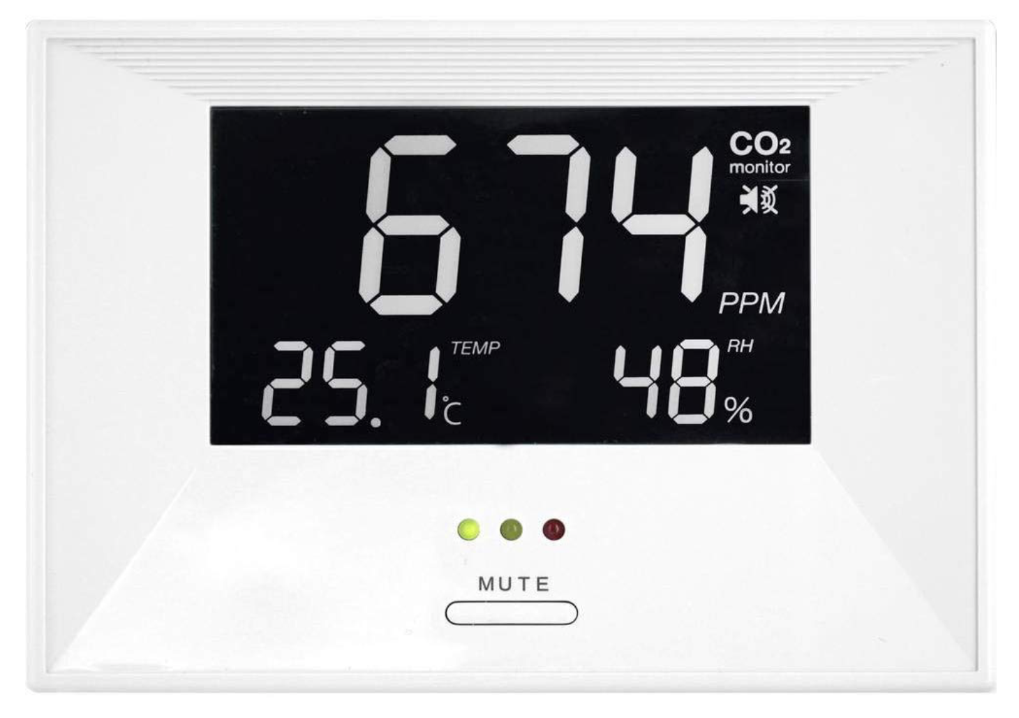 """TFA CO2-Messgerät """"Air CO2ntrol Life"""" with Thermo-/Hygrometer"""