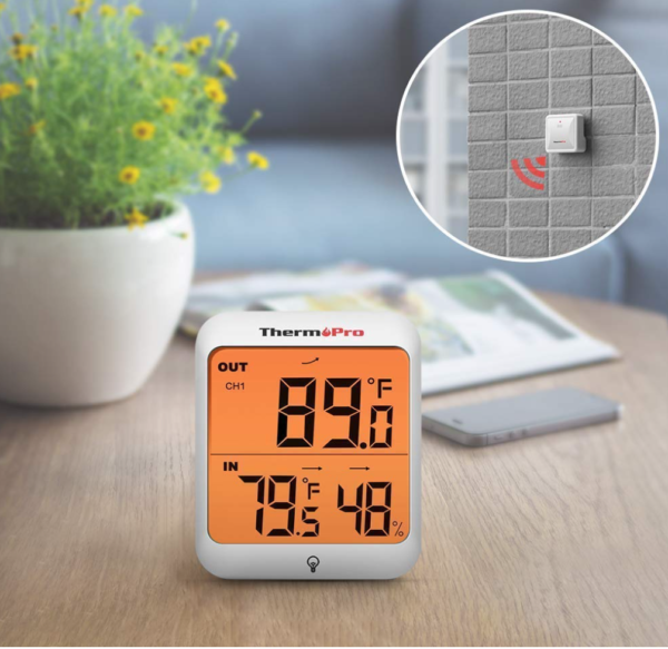 ThermoPro TP63 Digital Wireless Indoor Hygrometer Humidity Meter Outdoor Thermometer