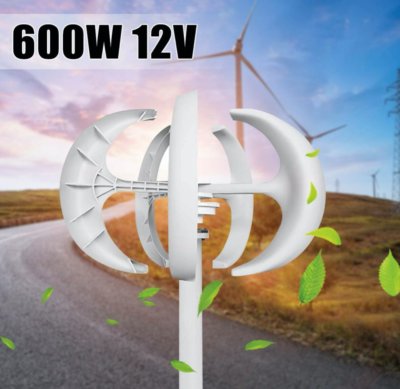 DFENGHUANG 300W / 600W 12V / 24V Vertical Axis, Wind Turbine Generator