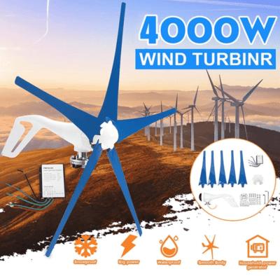 Dfenghuang 4000w Wind Turbine Generator