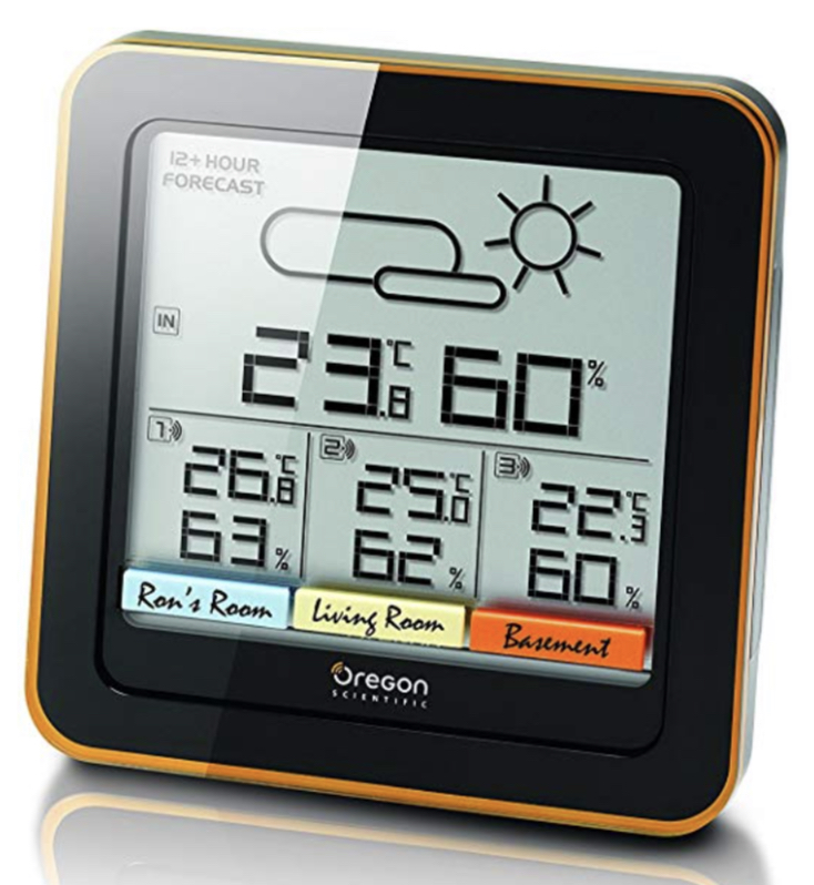 Oregon Scientific RAR502X Multi-Zone Weather Station with LCD