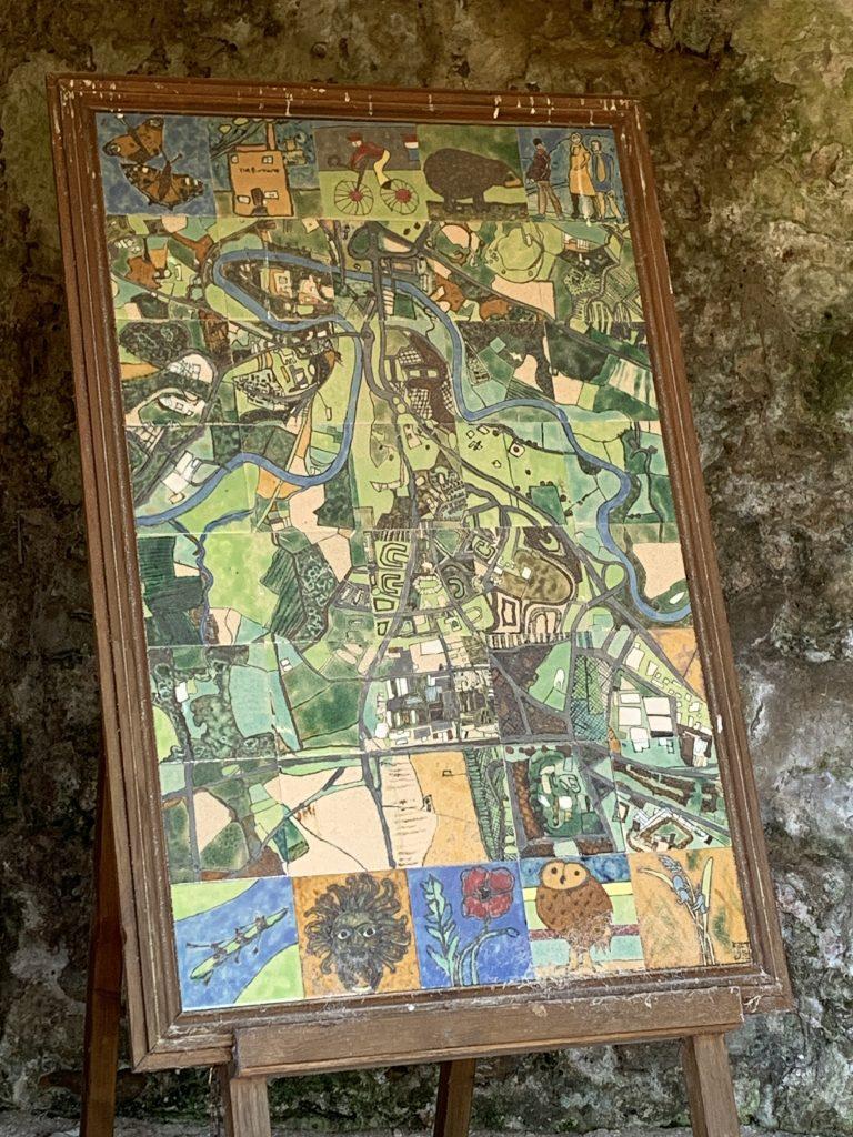 Durham in Tiles - Old Durham Garden