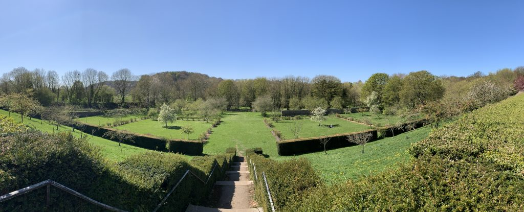Old Durham Gardens from the terrace (2)