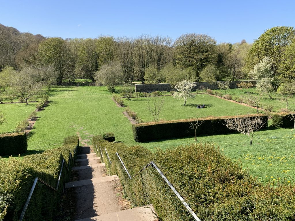 Old Durham Gardens from the terrace (3)