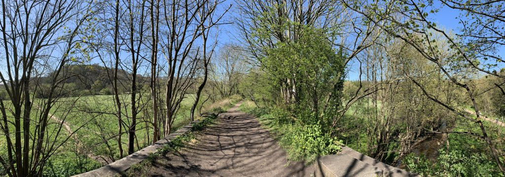 The Path from The River Wear to Old Durham Gardens