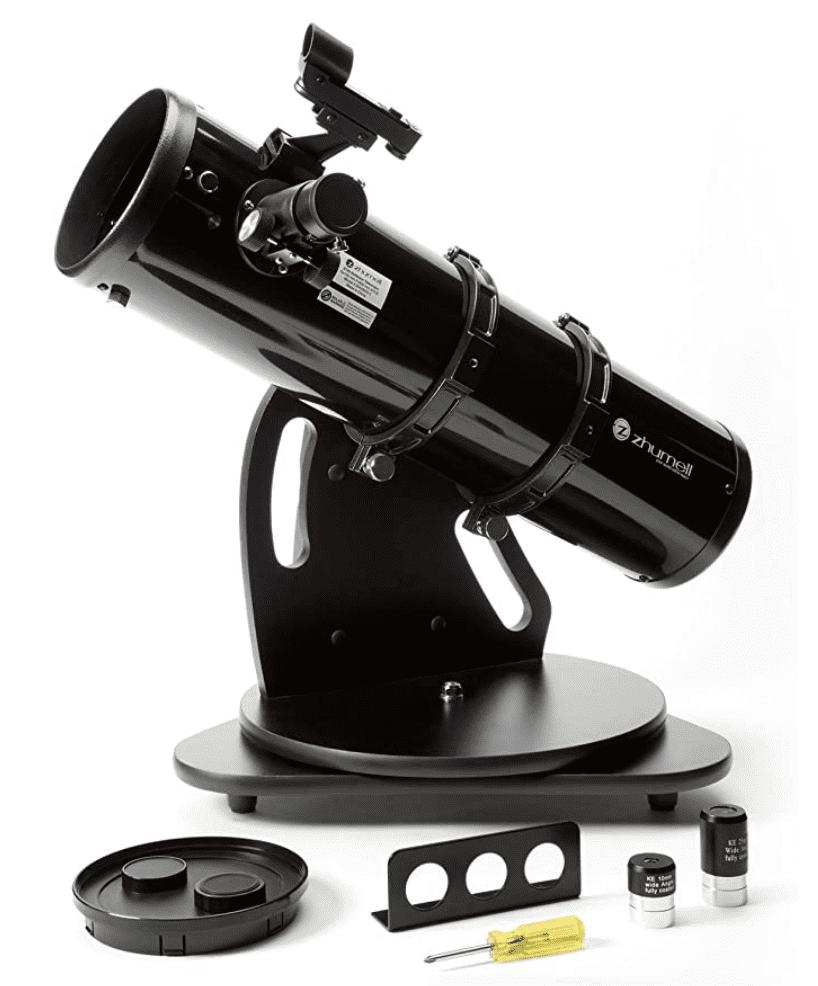 Zhumell ZHUS003-1 Z130 Portable Altazimuth Reflector Telescope