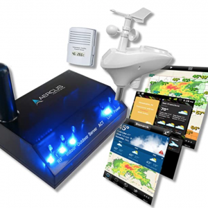 Aercus Instruments Wireless Weather Station WeatherSleuth