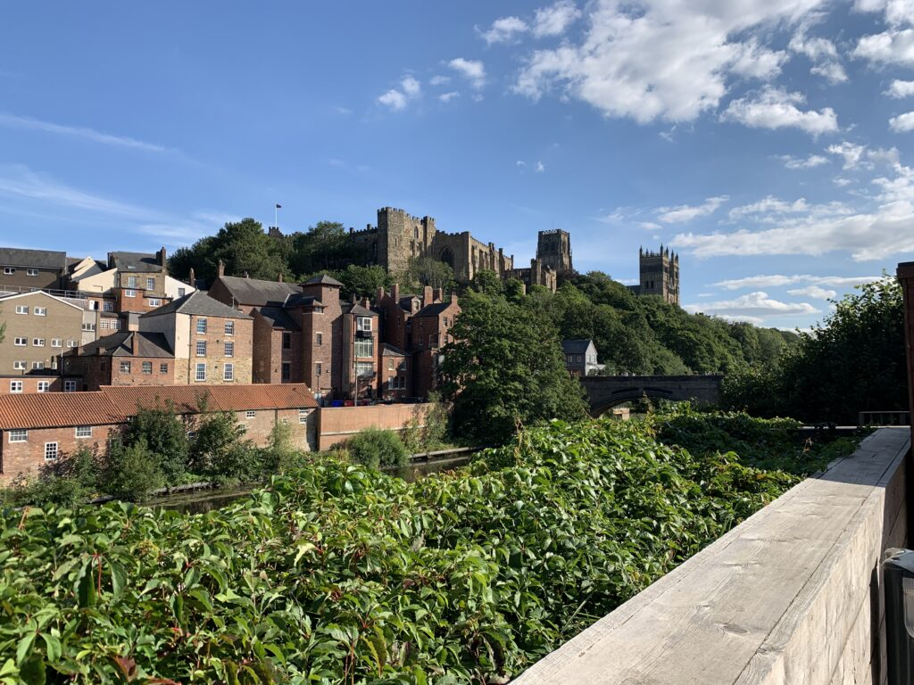Durham Castle and Cathedral from The Riverwalk