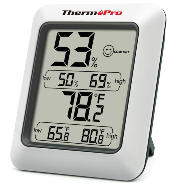 ThermoPro TP50 Room Thermometer Digital Indoor Hygrometer