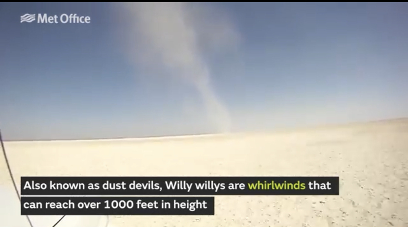 willy willy dust devil