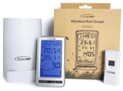 ClimeMET CM7015 Wireless Rain Gauge