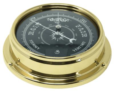 Tabic Prestige Traditional Brass Barometer