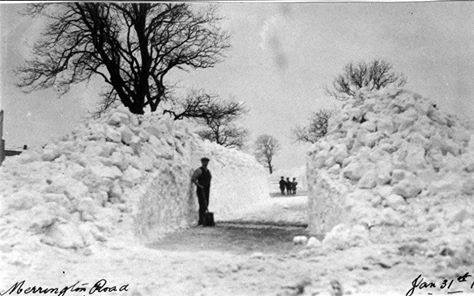 Merrington Road, Ferryhill January 31st 1910
