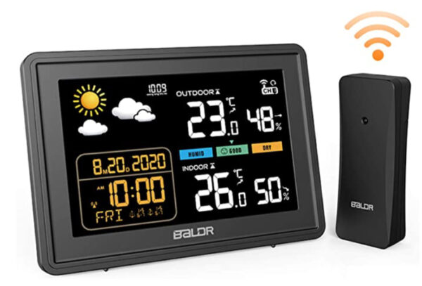 BACKTURE Weather Station with Outdoor Sensor