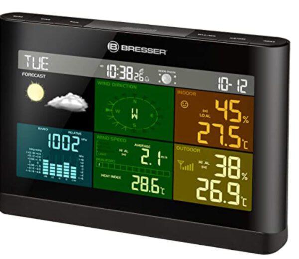 BRESSER 5-in-1 Weather Station Weather Center Comfort