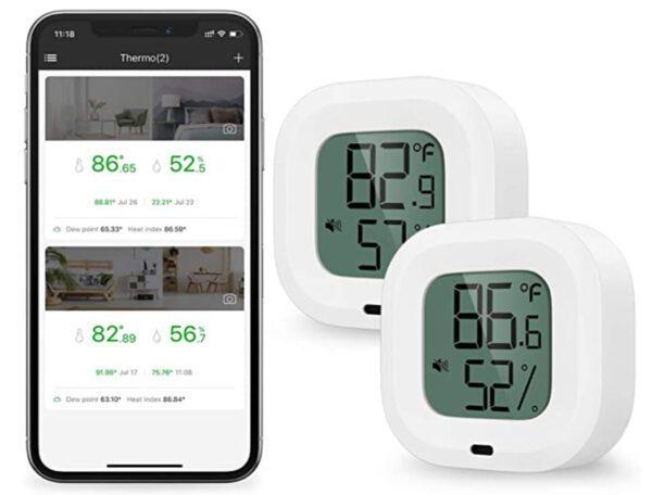 Brifit DE-PARENT-WA59 Wireless Thermometer Hygrometer