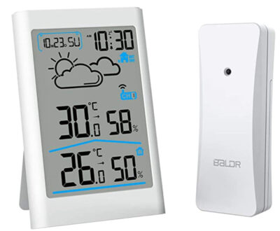 CABLETRANS Wireless Weather Station with Outdoor Sensor