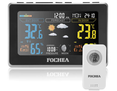 FOCHEA Weather Station with Outdoor Sensor Wireless