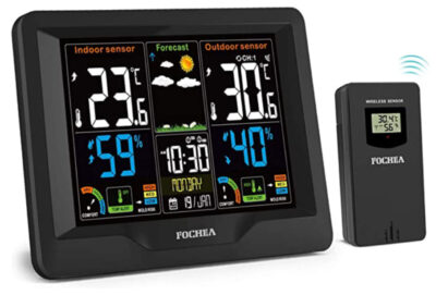 FOCHEA Wireless Weather Station with Outdoor Sensor