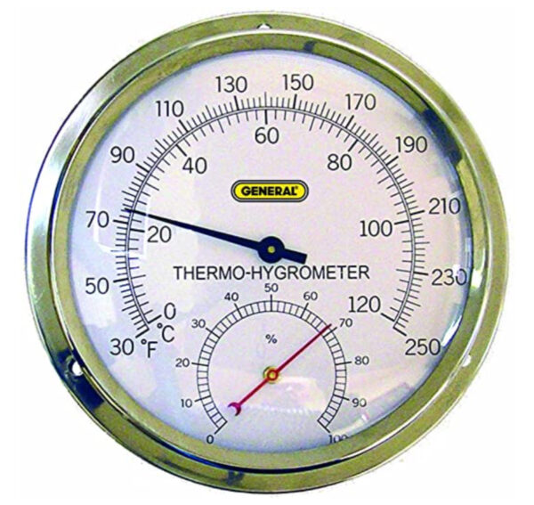 General Tools A600FC High Temperature Analog Thermo-Hygrometer