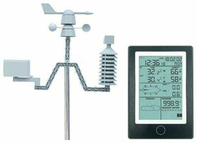 JFF Solar Powered Bluetooth Meteorological Station
