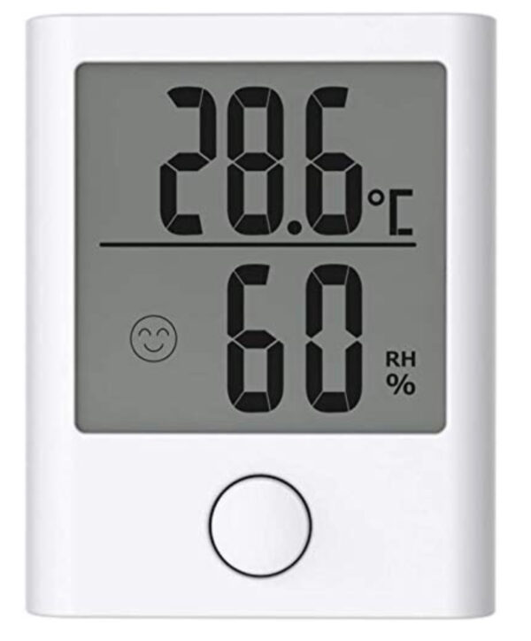 Kyhon Room Thermometer, Mini style Humidity Meter