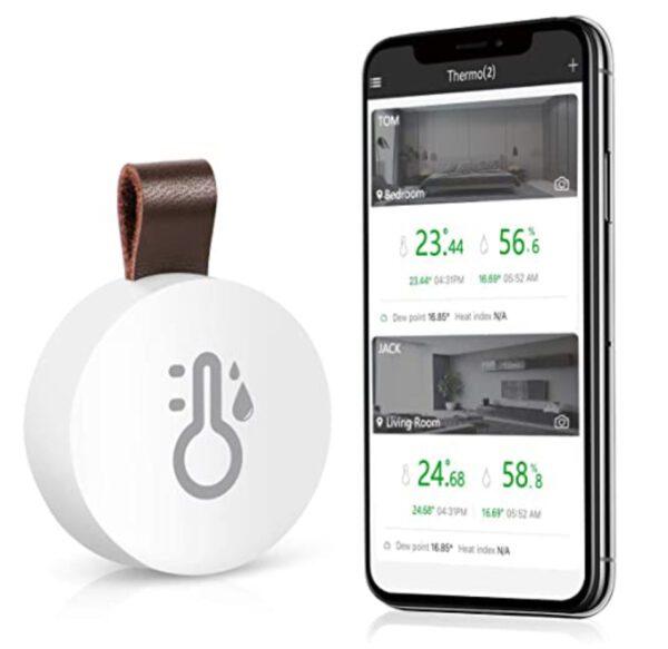 ORIA Mini Bluetooth 5.0 Humidity Temperature Sensor