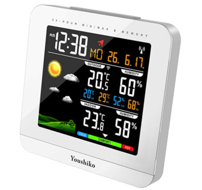Youshiko YC9430 Wireless Colour Weather Station