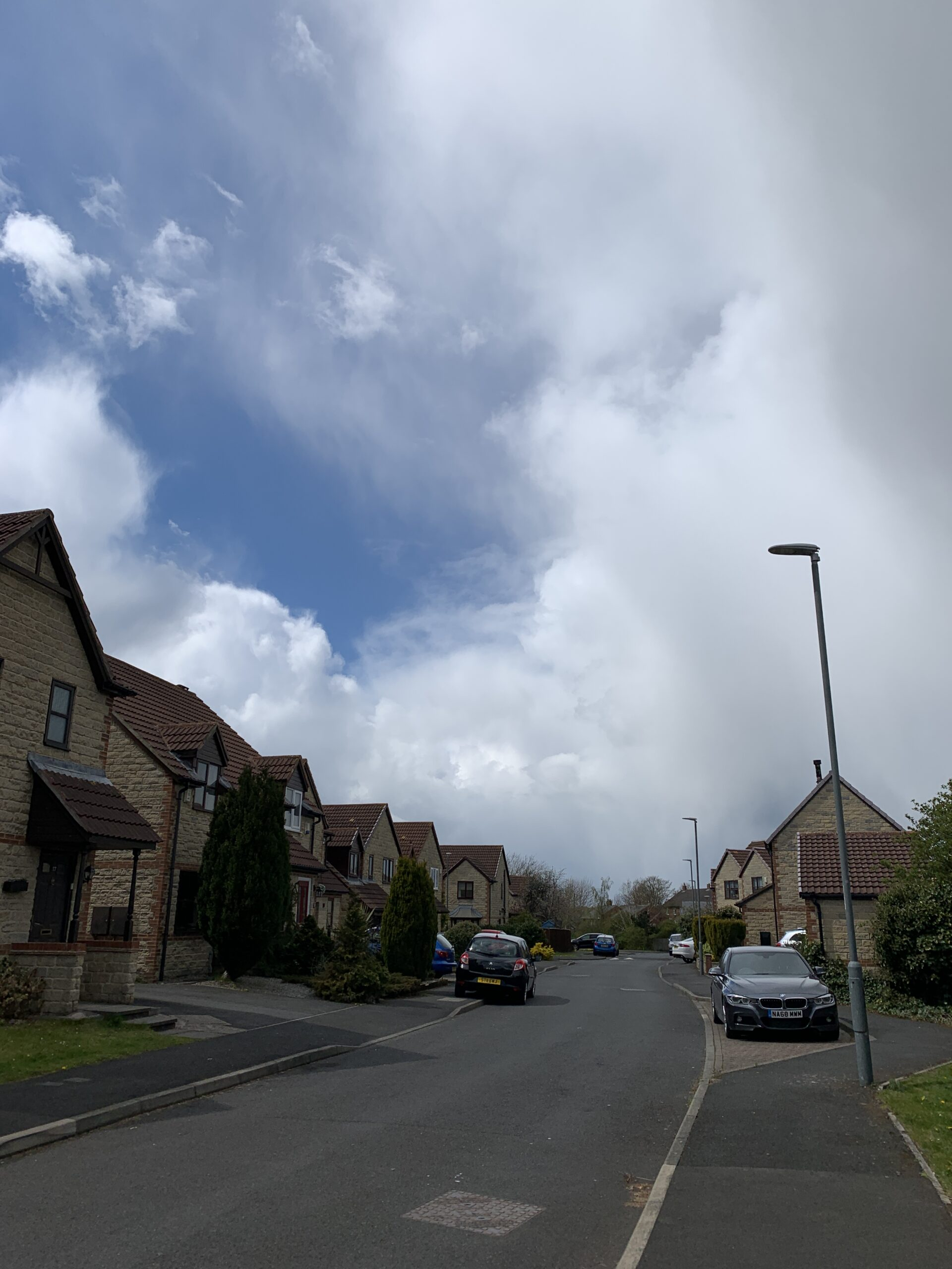Hefty showers in the first week of May 2021